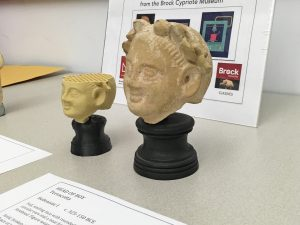 3D printer replicates artifact