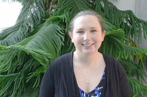 Brock University Master's student Cayleigh Sexton