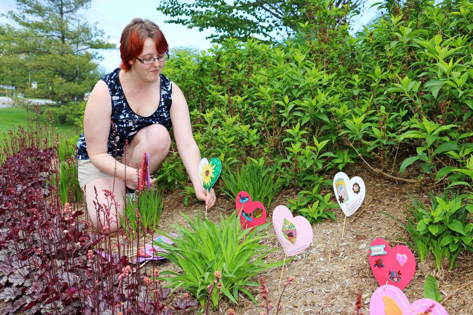 Heart gardens highlight history of residential schools u2013 the brock news