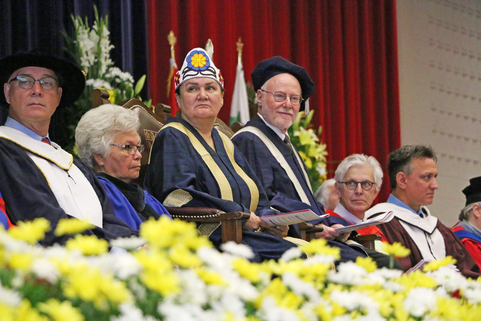 Cheechoo and Traves Spring Convocation