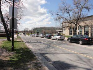 Parking University Road Wesr