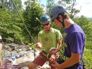 BaseCamp rock climbing