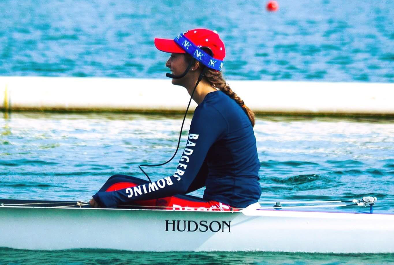 Brock University rower Laura Court.