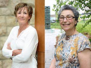 Maureen Lux and Carmela Patrias