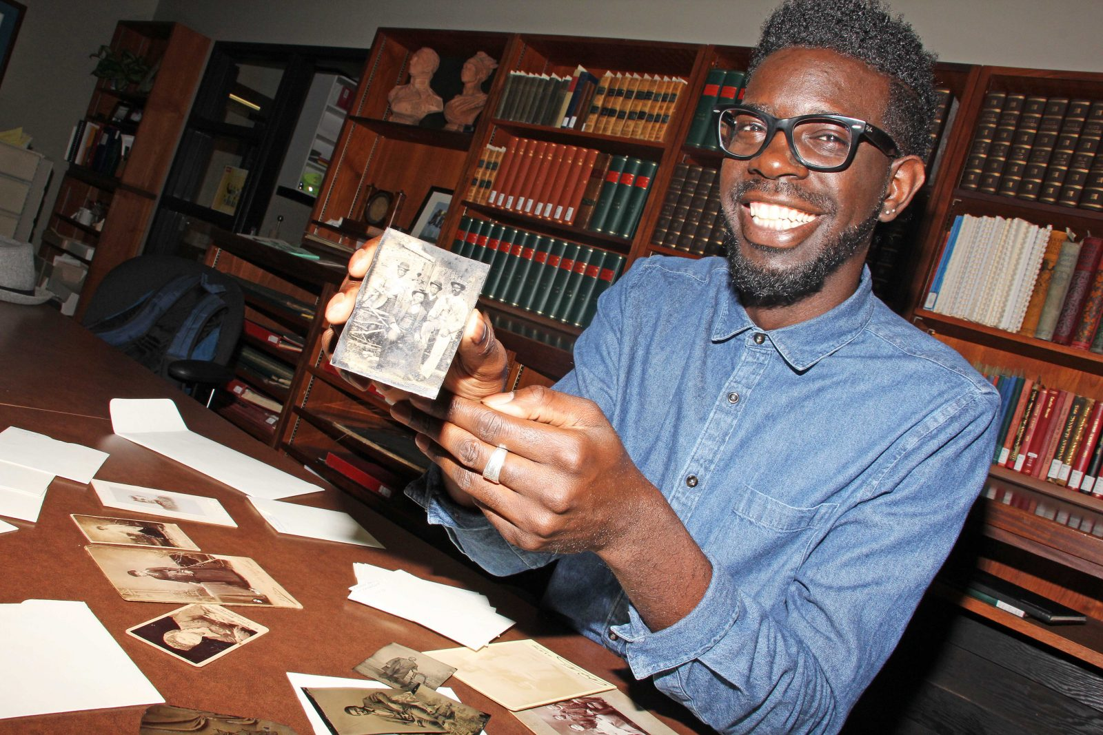 Daniel Broyld in Special Collections