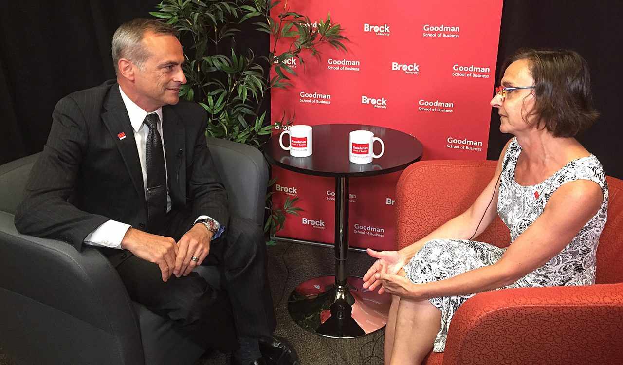 Andrew Gaudes Conversations with Goodman
