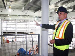 Goodman construction tour