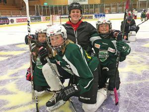 Brock's Heather Sorley coaches in Sweden