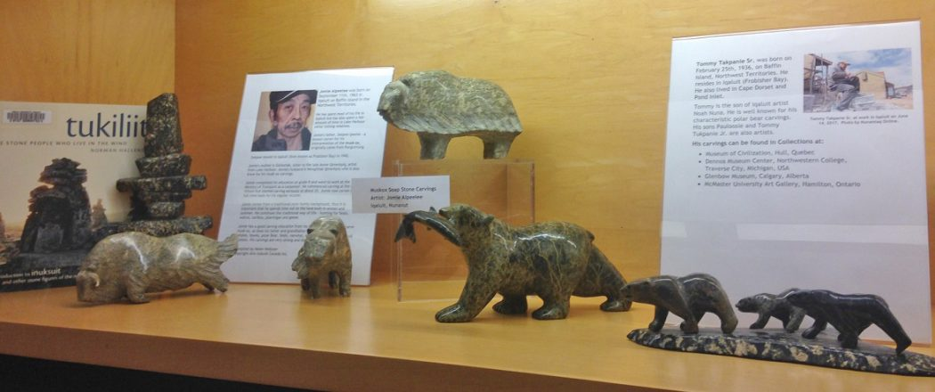 Inuit library display