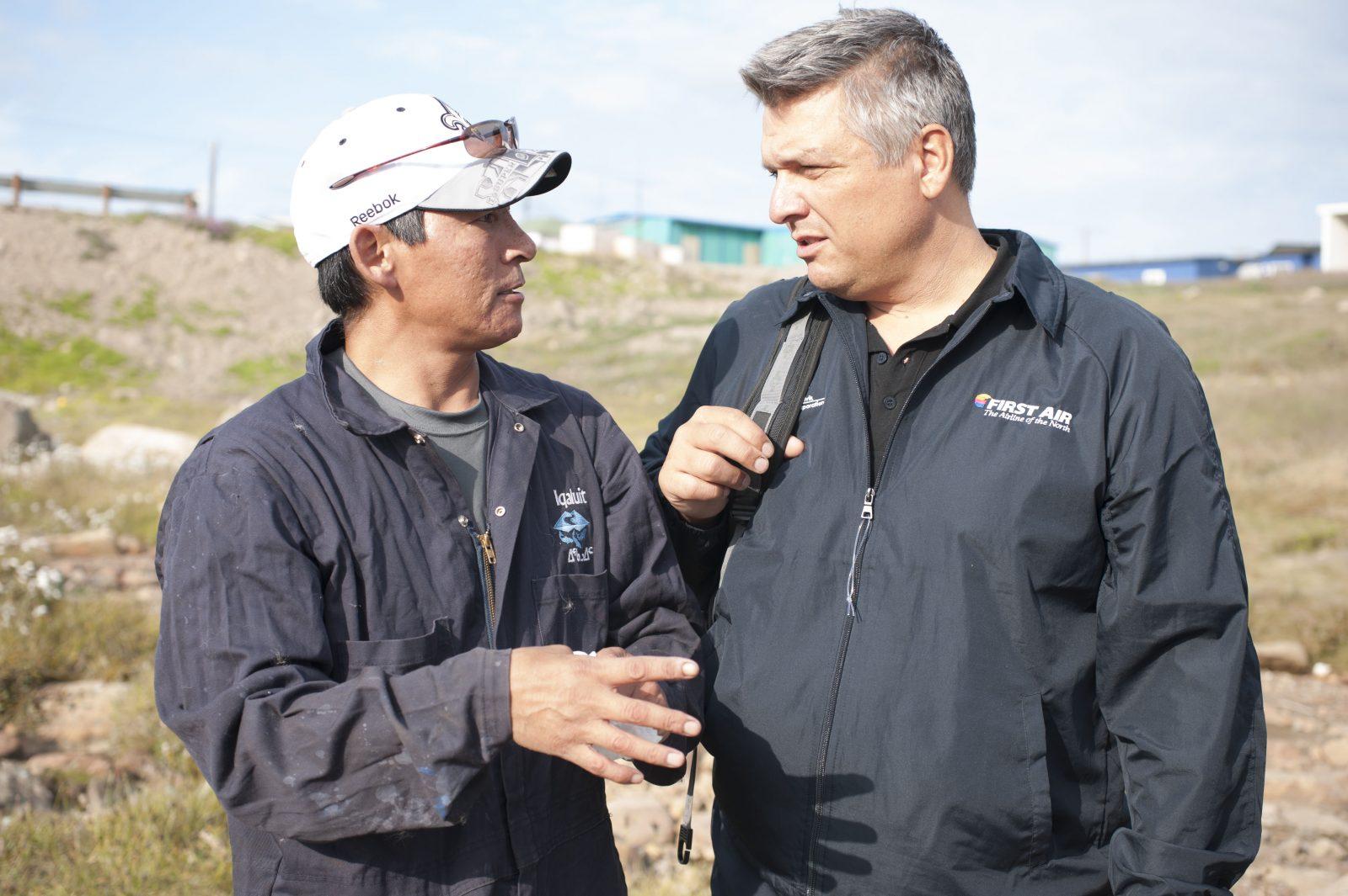 Joe Pelino in the Arctic