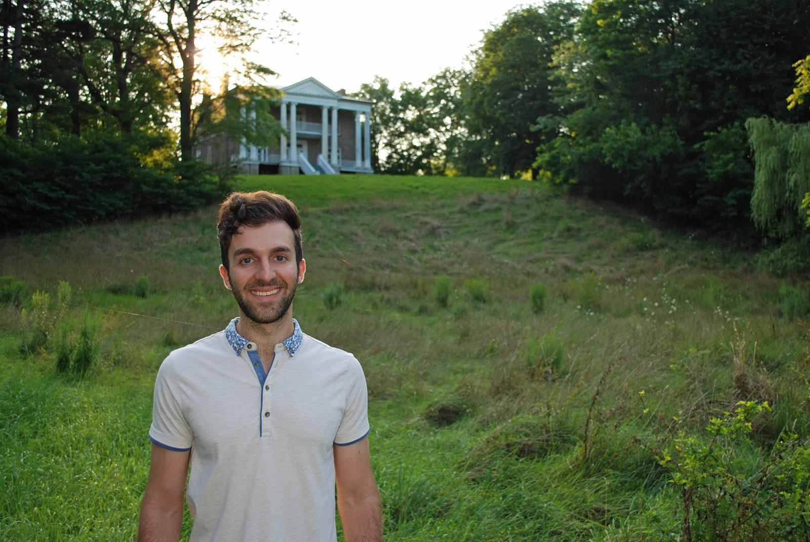 John Raimondo at Willowbank Estate