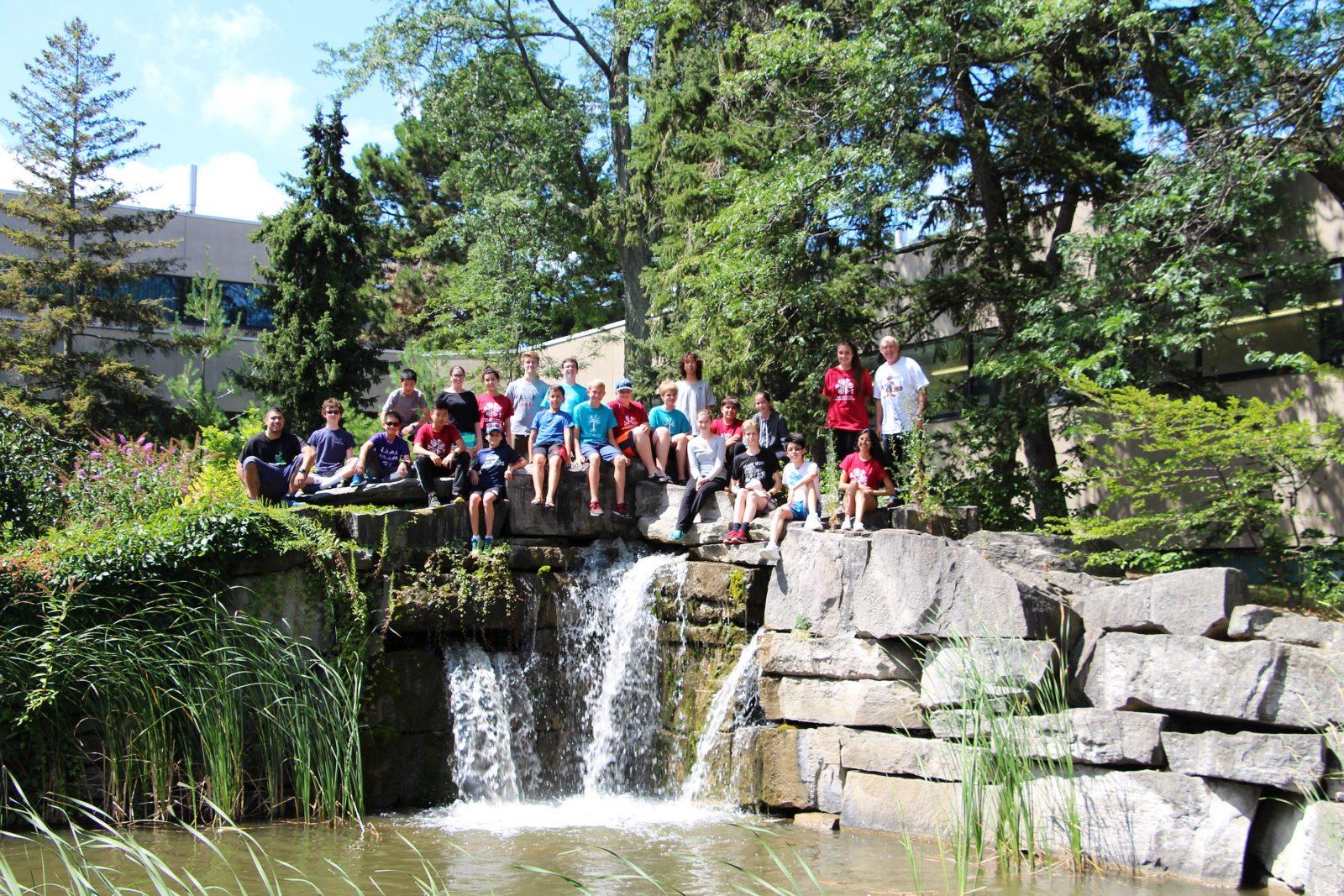 Math camp participants