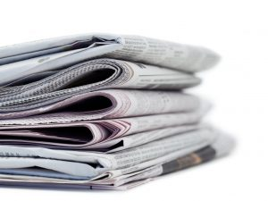 Newspapers, media clips