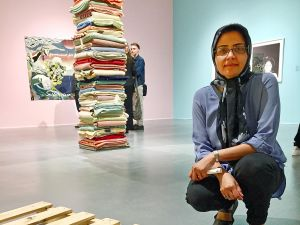 Soheila Esfahani at Material Girls