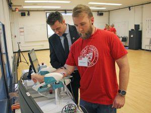 Ergonomics lab opening