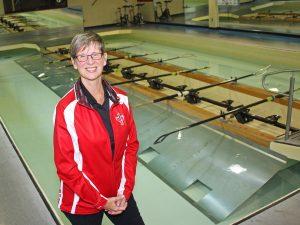 Rowing Canada President Carol Purcer