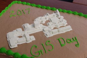 GIS Day cake