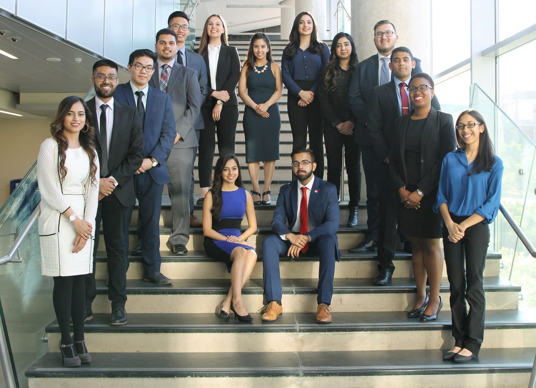 Goodman accounting conference student organizers