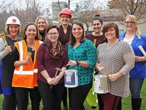 Brock Women Build participants