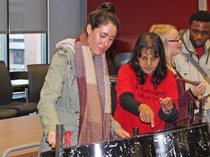 International week steel drums