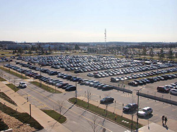 Zone 1 parking lot