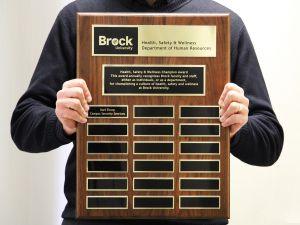 Health Safety and Wellness Champion Award