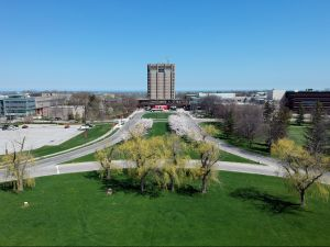 Aerial of Brock campus