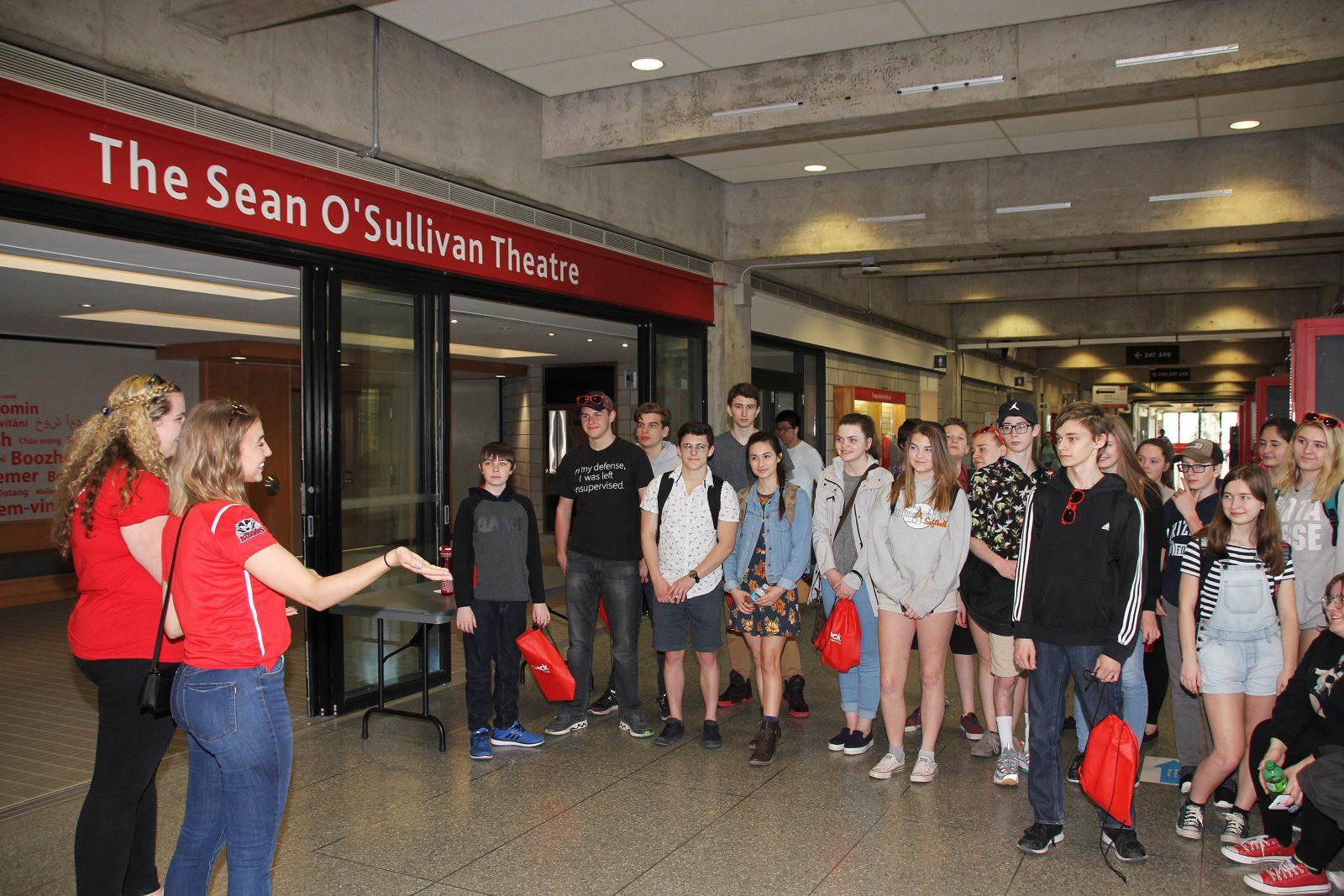 High school tour