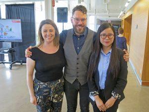 Kaitlyn Kerridge, Jonathan Brower and Shasha Hu