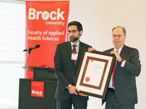 Niagara Region Public Health award