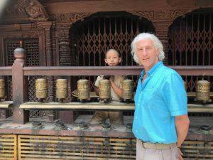 Richard Mitchell in Nepal