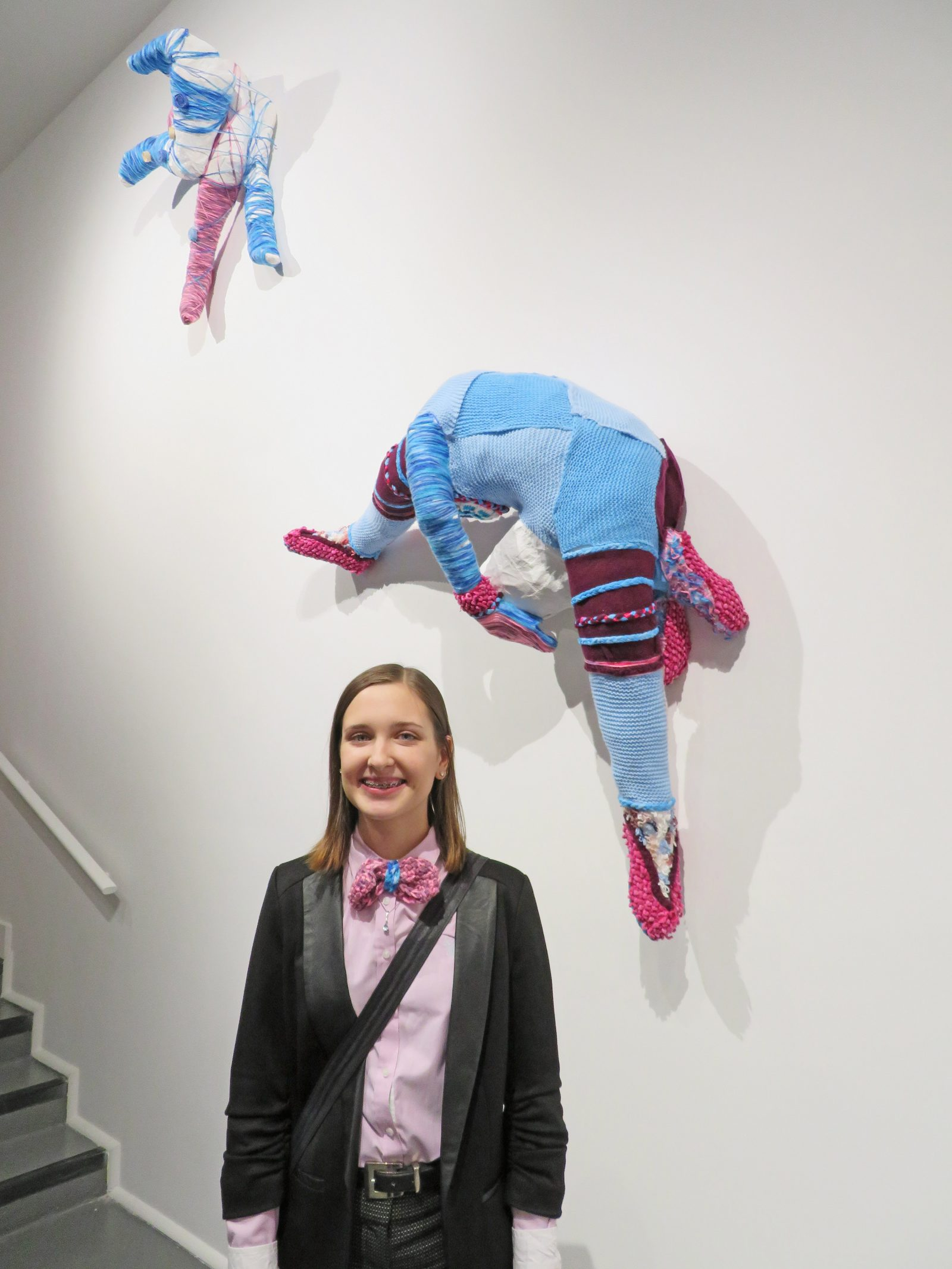 Victoria Reid was recently honoured for her artwork, which was on display at Rodman Hall Art Centre as part of the Turnin' this Car Around exhibition in April.