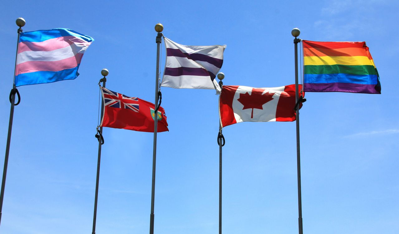 Brock flags