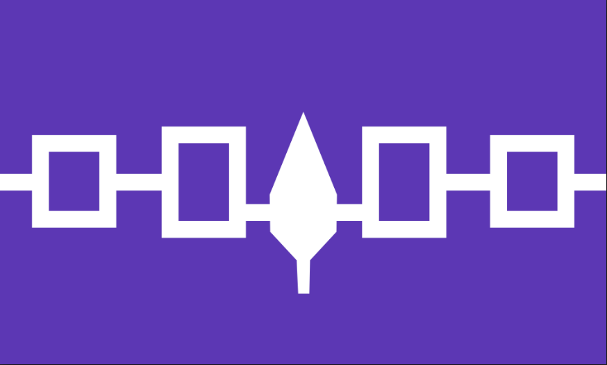 Hiawatha Belt flag