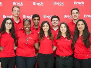 Brock International Student Ambassadors 2018-19