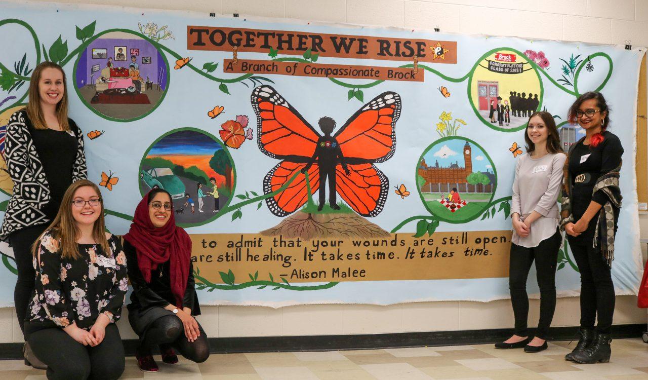 Compassionate Brock mural