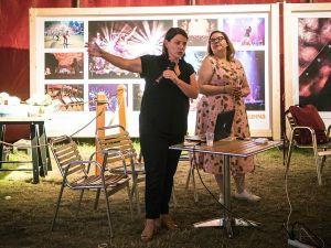 Karen Fricker and Hayley Malouin