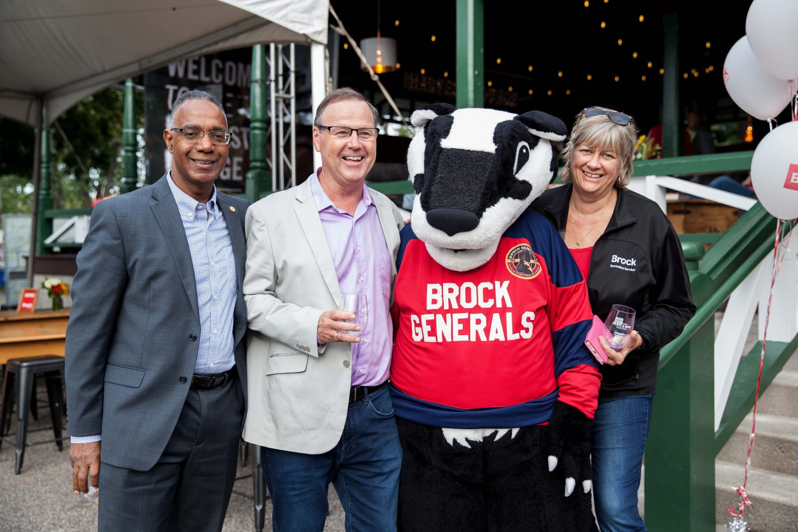 Brock Night at Niagara Grape and Wine Festival