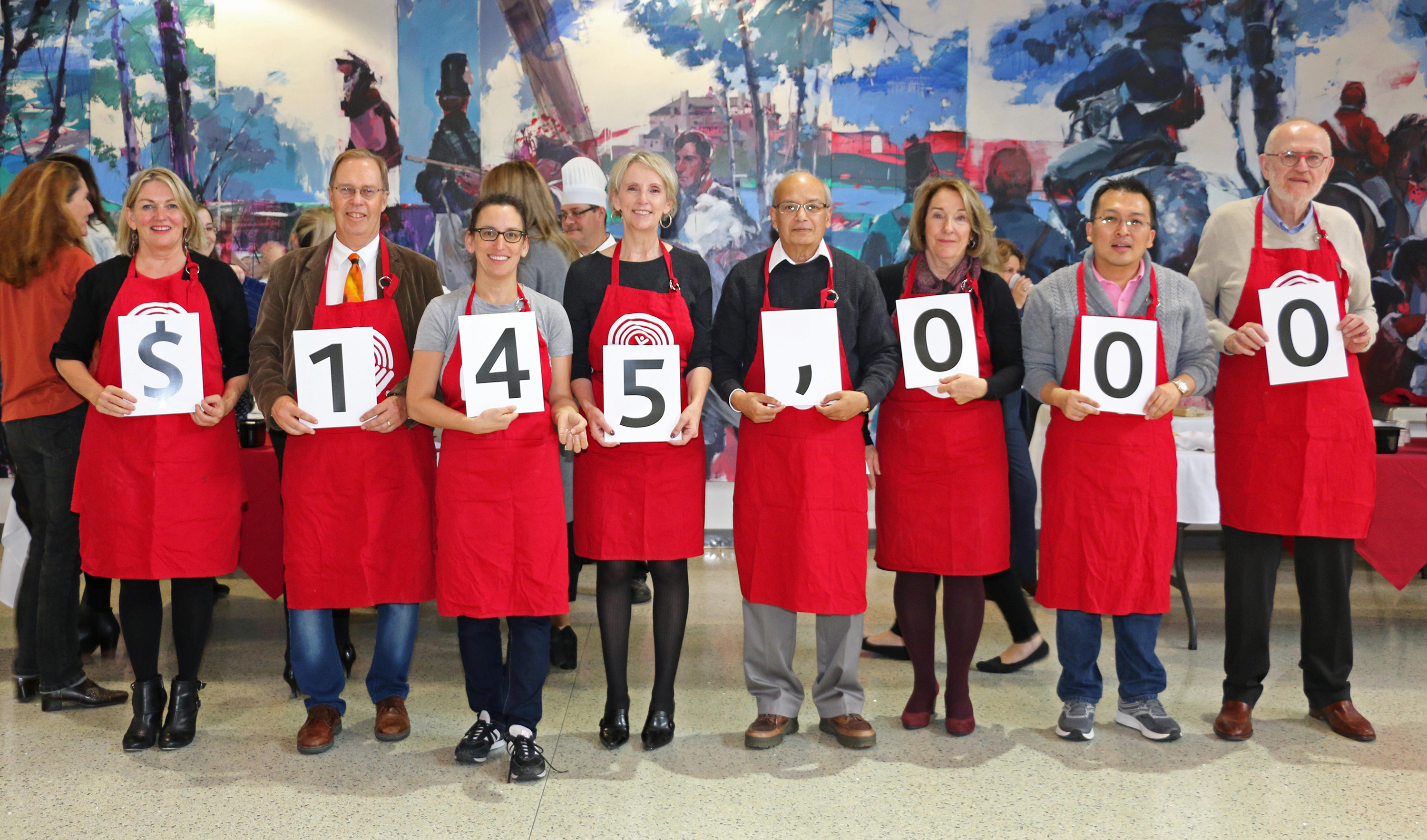 United Way campaign goal