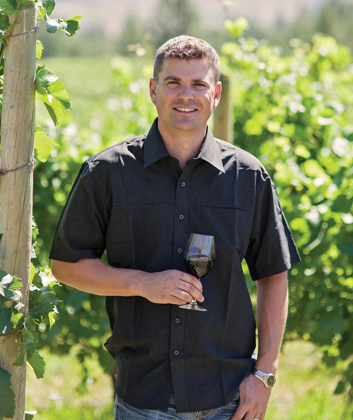 Winemaker Derek Kontkanen