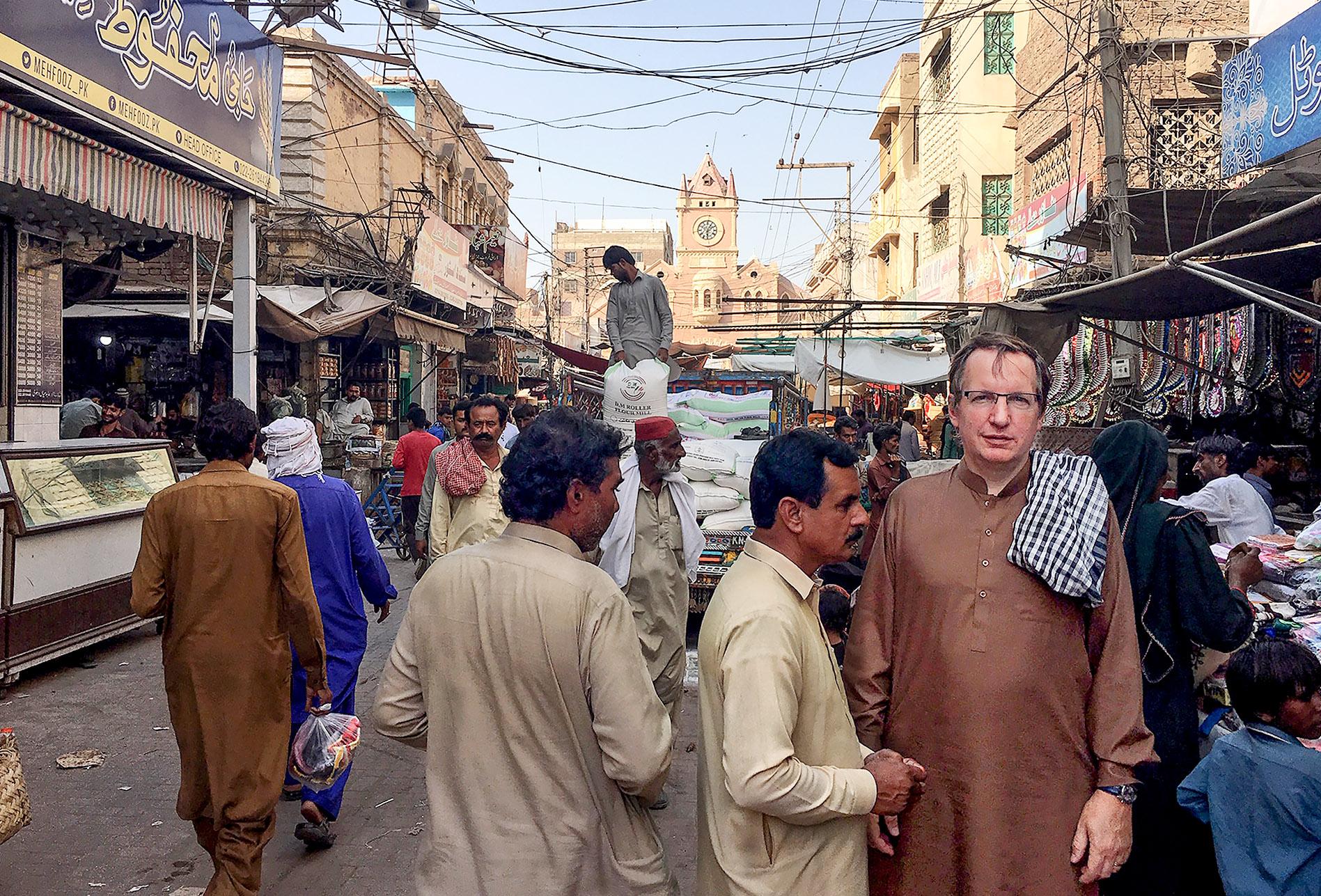 Ron Thomson in Pakistan