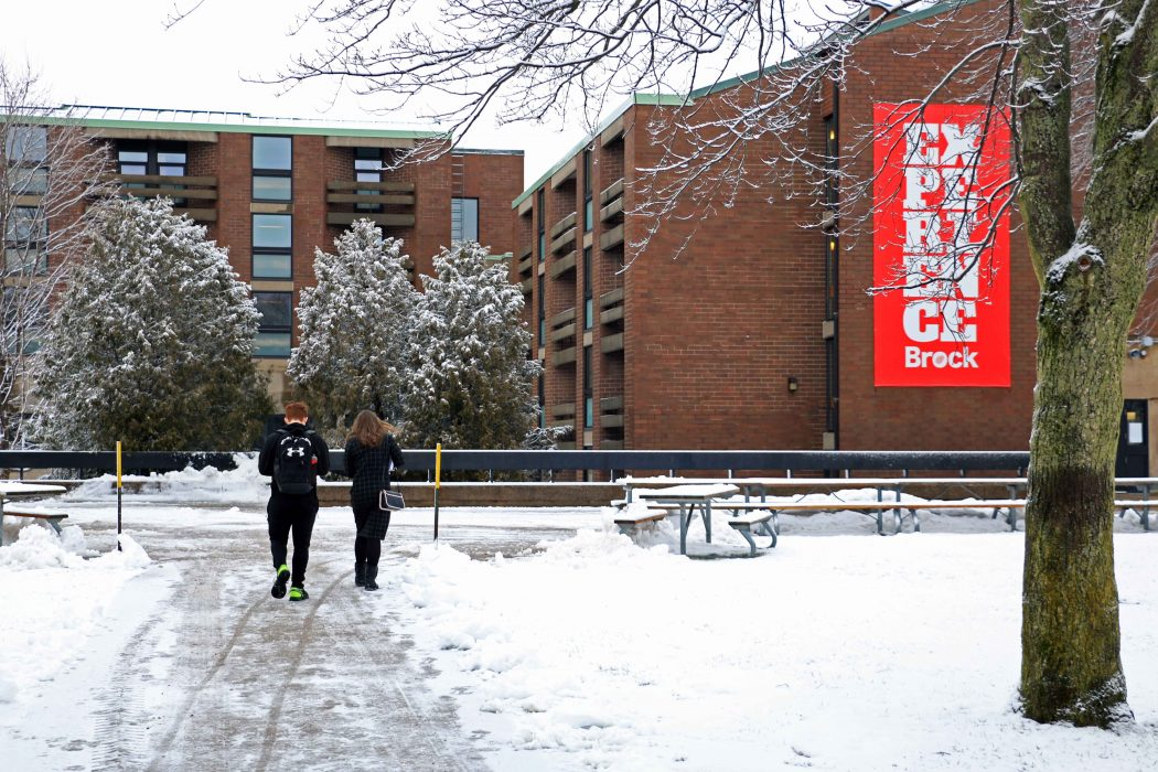 Brock digs out, classes will resume at 10 a.m. today