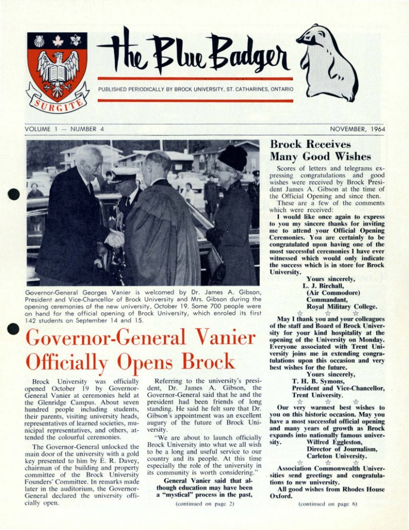 Online exhibit delivers rich history of The Brock News